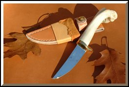 hand-made hunting knife