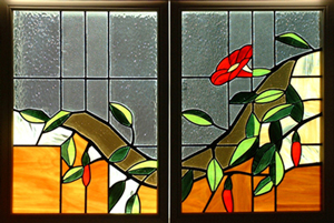 Summer Vine - stained glass