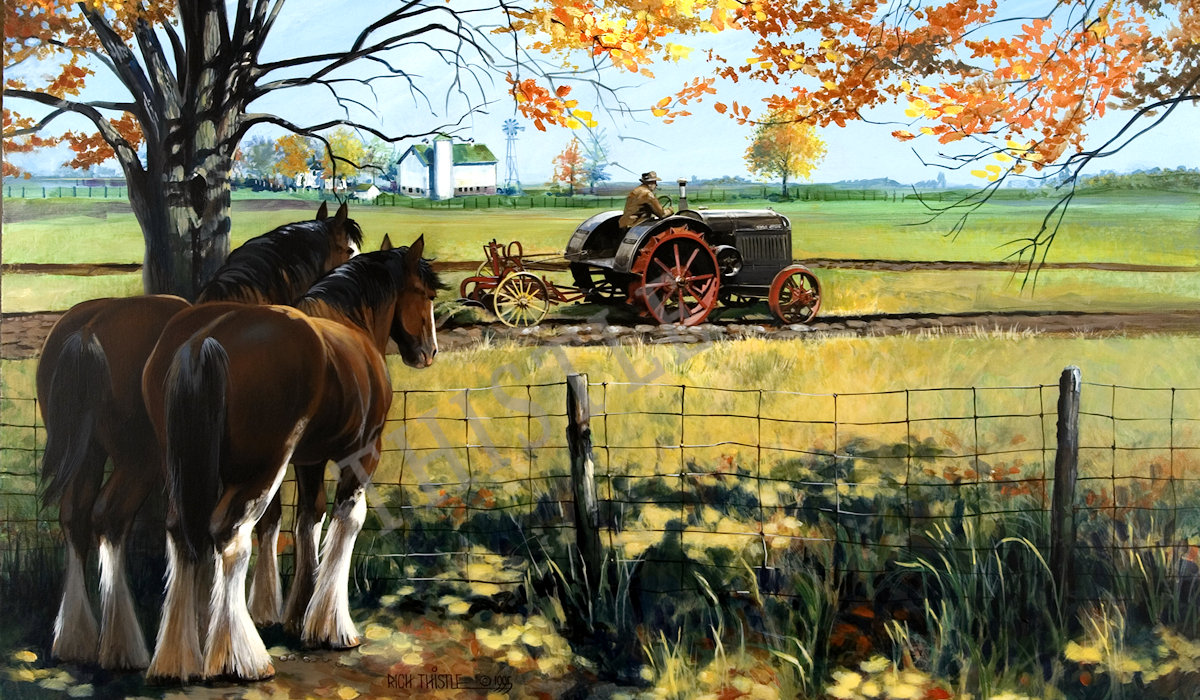 HORSEPOWER By Rich Thistle