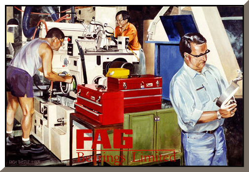 FAG BEARINGS LTD. By Rich Thistle©