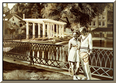 1936 PERGOLA By Rich Thistle©